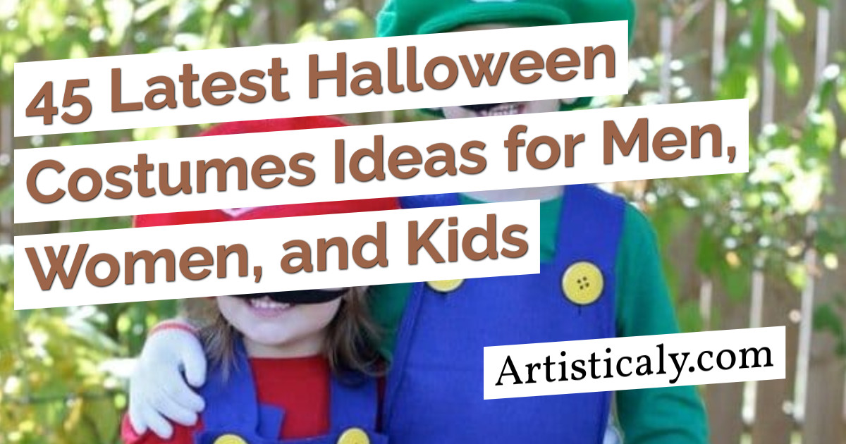 Post Banner: 45 Latest Halloween Costumes Ideas for Men, Women, and Kids